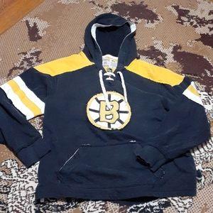 Distressed Boston Bruins Bruins Hooded Sweatshirt